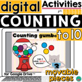 Counting to 10 for DISTANCE LEARNING