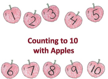 Counting to 10 with Apples