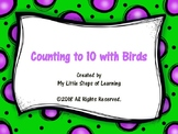 Counting to 10 with Birds