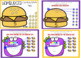 Counting to 10 with Burgers and Monsters - Drag and Drop Boom Cards Digital