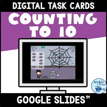 Counting to 10 with Google Slides™