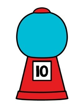 Gumball Math--Counting to 10