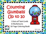 Counting to 10 with Gumballs