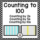 Counting to 100 using Visual Cues and Skip Counting by 2s 5s and 10s