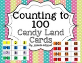 Counting to 100 Candy Land Card Sets