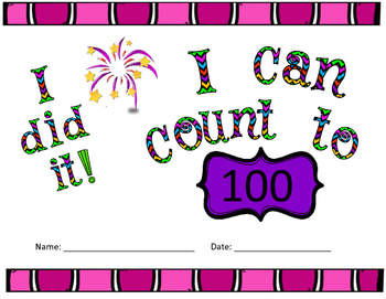 Counting to 100 Certificate
