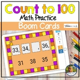 Counting to 100 Digital Game Boom Cards | Distance Learning