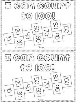 Counting to 100 Interactive Reader