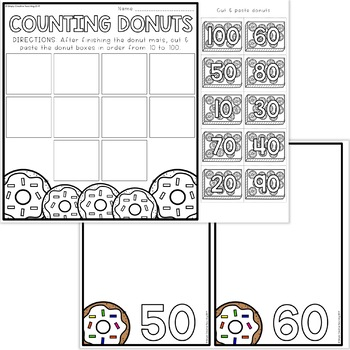 Kindergarten Counting to 100 Activities & Math Centers for K.CC.A.1