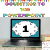 Counting to 100  and Number Recognition Math Practice Slide Show