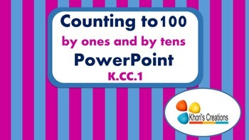 Counting to 100 by Ones and Tens (K.CC.1)