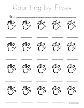 Counting by Tens, Fives, & Twos (Writing and Tracing)