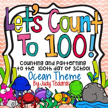 Counting to 100 days of School (Ocean Theme)