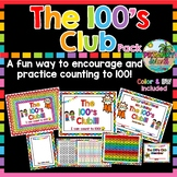 Counting to 100 with the 100's Club Bundle