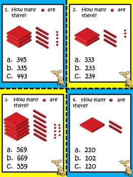 Math in Focus, 2nd Grade (Ch. 1, Lesson 1) - Counting: Center Activity