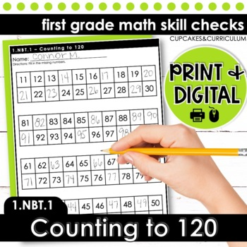 Counting to 120 | First Grade Math 1.NBT.1