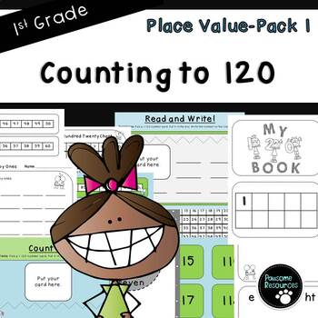 Counting to 120-Place Value Pack 1 (First Grade-1.NBT.1)