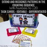 Counting to 120 Task Cards 1.NBT.A.1