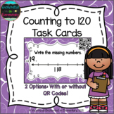 Counting to 120 Task Cards: 1st Grade Common Core: Extend