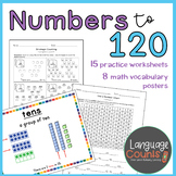 Counting to 120, Counting by 10s and 1s- 1st Grade