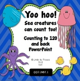 Count to 120 and back PowerPoint {Ocean Theme}