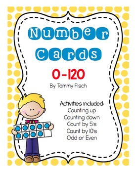 Counting to 120 Card Activities