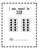 Counting to 20, 10 Frame Book