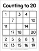 Counting to 20 Activity Sheets