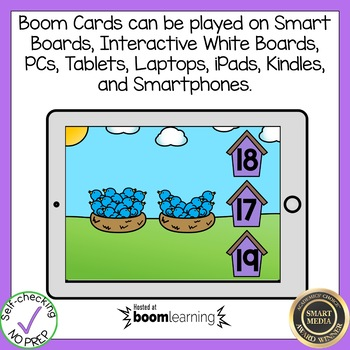 Boom Cards Counting to 20