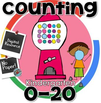 Counting to 20 - Digital Resource for Kindergarten