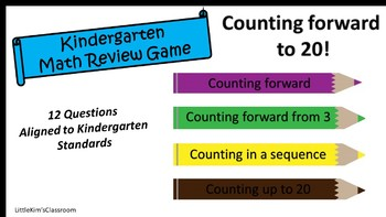 Counting to 20 Review Game