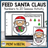 Counting to 20 Seesaw Activity | Christmas Digital Center