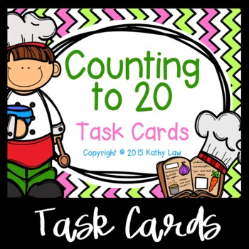 Counting to 20 Task Cards