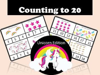 Counting to 20 Unicorns and Rainbows!
