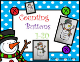 Counting to 20 Winter Theme (snowman)