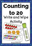 Counting to 20 - Write and Wipe Activity