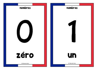 Counting to 20 in French