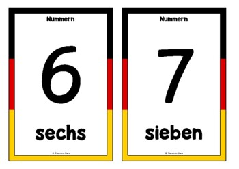 Counting to 20 in German