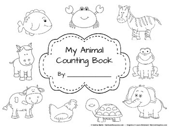 Counting to 20 with Animals Student Workbook