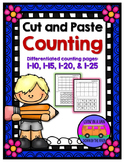 Counting to 25: Cut and Paste
