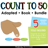 Counting to 50 Adapted Book Bundle [Level 1 and 2] Basic C