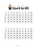 Counting to 50 Assessment