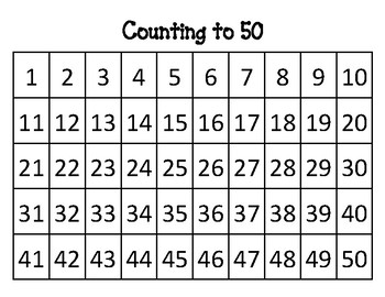 Selective image pertaining to free printable numbers 1-50