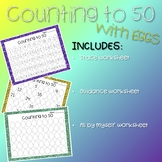 Counting to 50 Worksheets