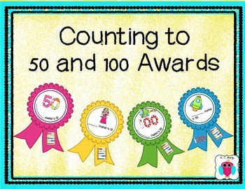 Counting to 50 and 100 Awards
