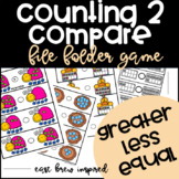 Counting to Compare Numbers: Spring