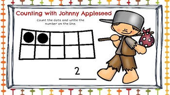 Counting Sets to 10 (Apple Theme)-A Digital Math Center