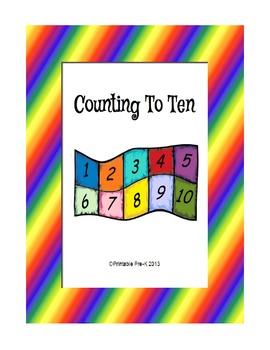 Counting to Ten features a simple counting song based on quilt squares. Counting clip cards, a quilt puzzle, and mini-songbooks to print in color or black and white.