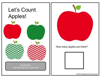 Counting to Ten Adapted Books Seasonal Bundle