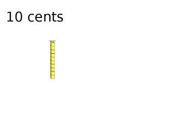 Counting to Ten Dollars By Ten Cents Using MABS